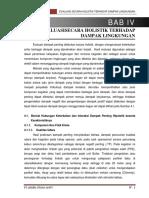 10. Bab IV Evaluasi Secara Holistik Terhadap Dampak Lingkungan