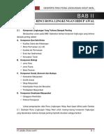 8. Bab II Deskripsi Rinci Rona Lingkungan Hidup Awal