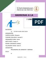 Barreras a La Infección - Seminario 01