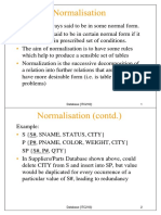 Adbms Lectures Midterm-unit 1-Ch7 Normalization