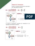 Relacion de Transmisión Caja de Cambios Sincronizada (1)