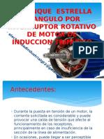 Arranque Estrella Triangulo Por Interruptor Rotativo de Motor de Induccion Trifasico_2
