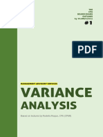 MAS - Variance Analysis