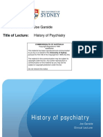 3 - PAAM - History of Psychiatry