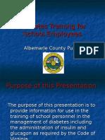 Diabetes Training for School Employees 3