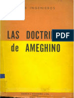 INGENIEROS Las Doctrinas de Ameghino
