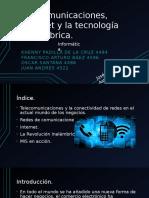 Telecomunicaciones, Internet y la tecnología inalámbrica.pptx
