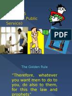 Ethics in Public Adminisatration