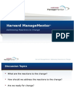 ChangeManagement LeadDiscussion AddressingReactionsToChange PPT