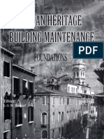 Urban Heritage - Building Maintenance, Foundations