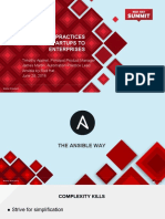 Ansible Best Practices for Startups to Enterprises