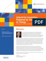 Gartner Industrial Analytics Newsletter