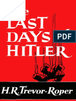 Last Days of Hitler, The - H. R. Trevor-Roper.pdf