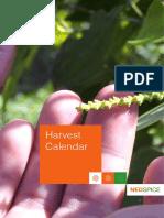 Harvest Calendar Full