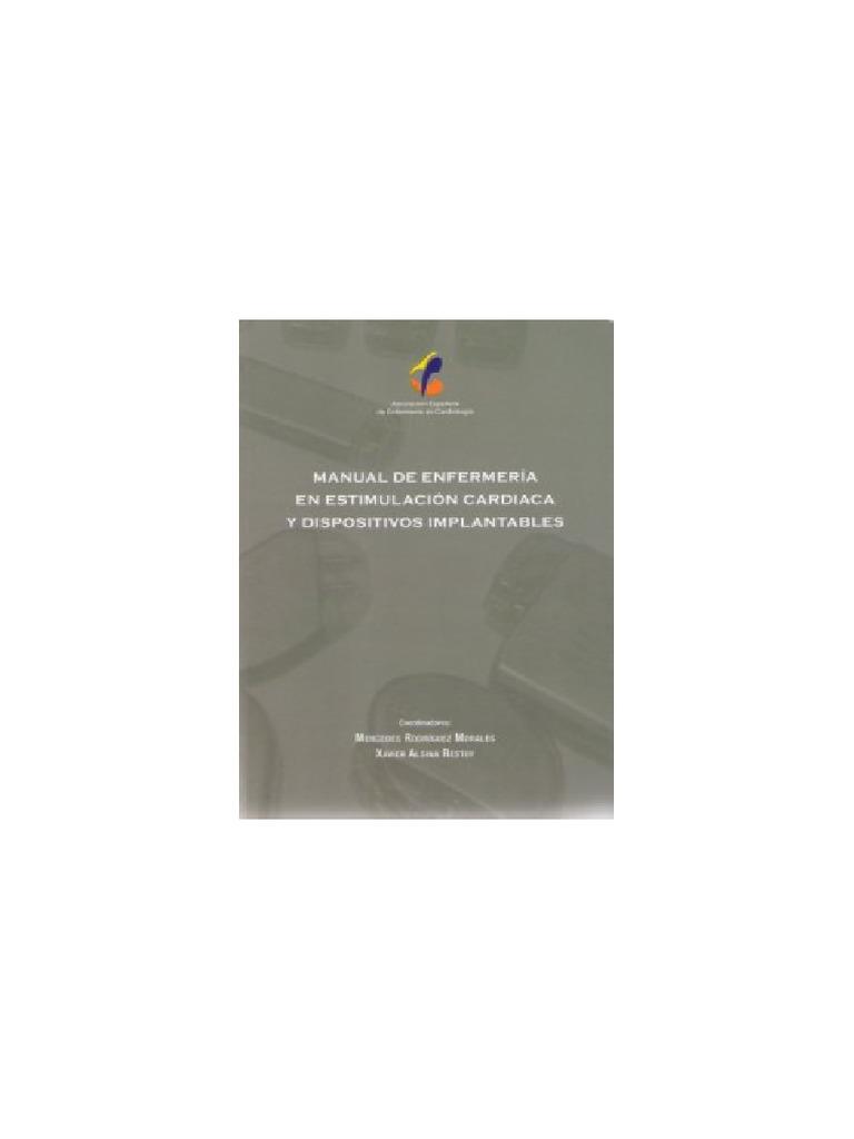 manual de enfermeria en estimulacion cardiaca y dispositivos ...