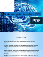 Brain Computer Interface Ppt