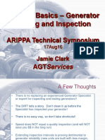 4 - ARIPPA 2016 - Back to Basics - Generator Testing and Inspection