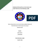 Sistem Informasi Penjadwalan Matakuliah berbasis web pada politeknik Jambi