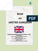 Tdap Report on United Kingdom