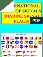 PP International Code of Signals Banderas