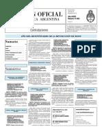 Boletin Oficial 09-06-10 - Tercera Seccion