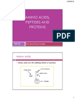 04 BIO149 Amino Acids, Peptides and Proteins