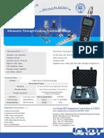 LC-2D Ultrasonic Thickness Gauge