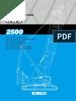kobelco 250t CKS2500spec