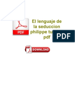 El Lenguaje de La Seduccion Philippe Turchet PDF