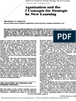 1983. Porter. 1983. Industrial Organization and the Evolution of Concepts for Strategic Planning the New Learning