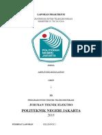 Laporan Praktikum Amplitudo Modulation