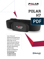 Polar H7 Heart Rate Sensor Accessory Manual English