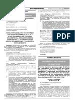 Resolución Legislativa del Congreso Nº 007-2016-2017-CR
