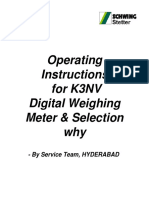 K3NV Omron Meter Calibration and Selection Why