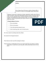 Tranformation Task Preparation