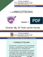 Farmacotecnia Sesion 1 Uigv