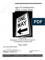 Conshohocken One-Way and Parking Study