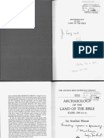 Amihai Mazar - Archaeology of the land of the bible.pdf