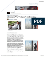 Chairman Vu, Vietnam's Coffee King - Forbes