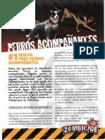 ZOMBICIDE S2 - Perros Acompañantes ES
