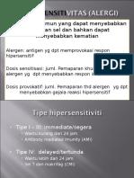 Hipersensitivitas (alergi)