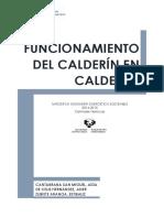 Funcionamiento Del Calderín en Calderas