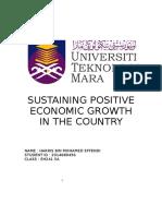 Sustaining Economic Growth