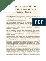 2 Lo Que Están Haciendo Las Compañías Peruanas Para Ser Más Competitivas