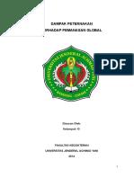 Makalah Kelompok 13 (Peternakan & Pemanasan Global) Revisi