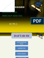 Anaz Alfi Aziz Bahasa Inggris