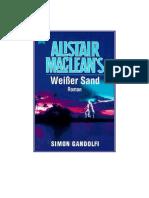 Alistair MacLean & Simon Gandolfi - Weißer Sand