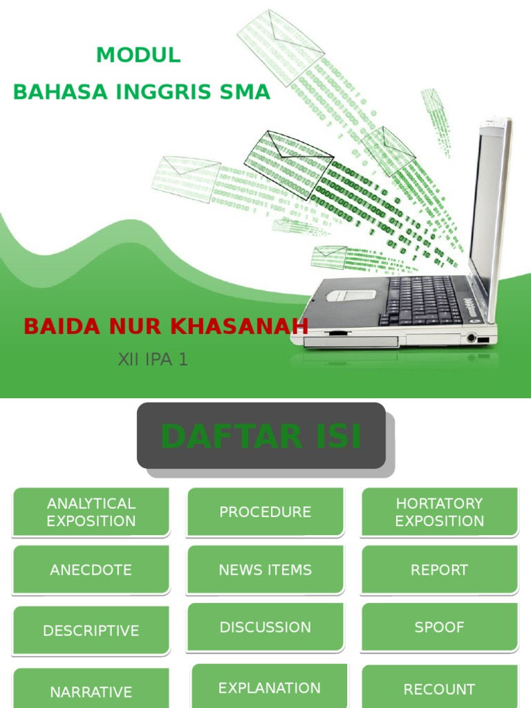 Baida Nur Khasanah Bahasa Inggris Solar Energy Energy Development