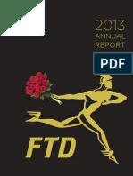 FTD Companies Inc. Annual Report 2013-FINAL
