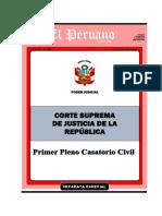 1-A- PRIMER PLENO CASATORIO CIVIL - Indemnizacion Por Daños y Perjuicios - CAS. 1465-2007 CAJAMARCA - Con Marcadores y Vinculos